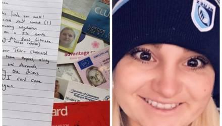 У девушки украли кошелёк, и он вернулся к ней 10 лет спустя с милой запиской