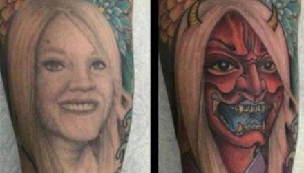 Чем перекрыть татуировку с именем или портретом бывшей: 10 ироничных идей