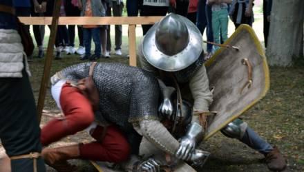 Душевное Средневековье: в Гомеле прошёл рыцарский турнир (фото, видео)