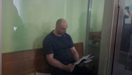 «Оговорили». В Гомеле в суде допрашивают экс-начальника уголовного розыска Чечерского РОВД