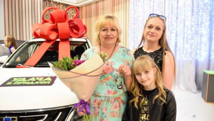Семья гомельчан выиграла новенький кроссовер, а пенсионер из Гомельского района – 50.000 рублей