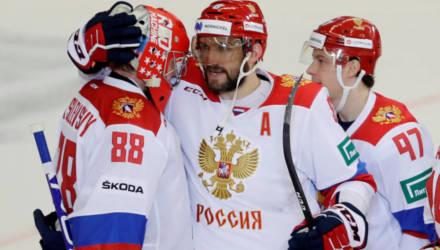 Российские хоккеисты досрочно вышли в плей-офф чемпионата мира