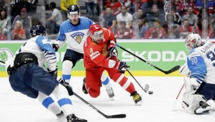 Сюрприз! Финны выбили Россию из борьбы за золото чемпионата мира по хоккею, а Канада разгромила чехов