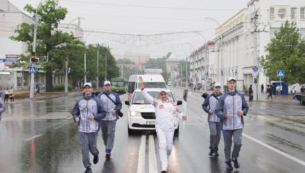 В связи с эстафетой «Пламя мира» в Гомеле будет изменено движение транспорта