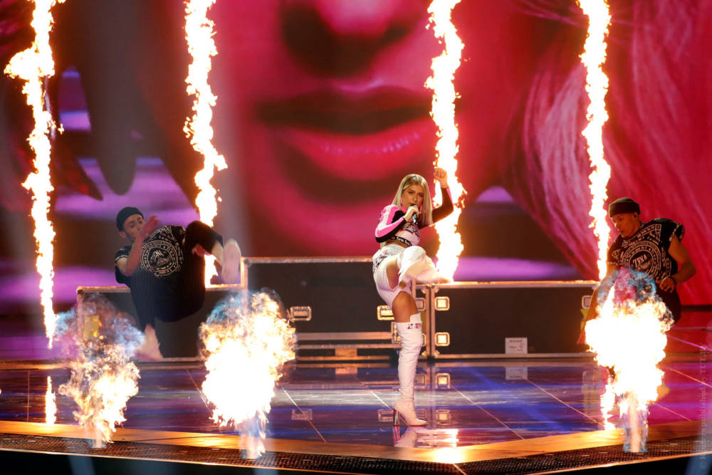 Белоруска Зена вышла в финал «Евровидения» (фото, видео)
