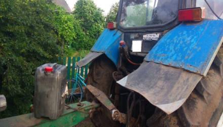 На Гомельщине раскрыто дерзкое хищение солярки с трактора