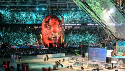 Как это было: в Минске прошла церемония открытия II Европейских игр (фото)