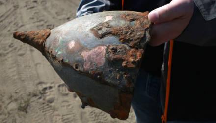 Найденный в Бобруйске древний шлем мог принадлежать князю Изяславу