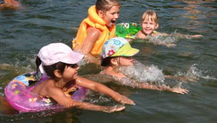 В Гомеле не рекомендуется купание детей на трёх городских пляжах