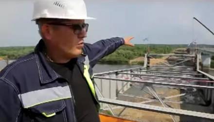 Уже в ноябре 2019 года! Движение по мосту у Бобовичей под Гомелем откроют раньше срока