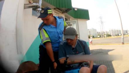 В Гомеле сотрудники милиции и неравнодушные граждане помогли инвалиду