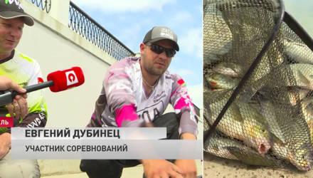 «Рыбы у нас хватает». Кубок Гомеля по рыбной ловле собрал на набережной Сожа 35 команд со всей Беларуси