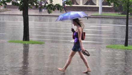 Жарища и дожди, во вторник/четверг может бахнуть. Погода в Гомеле на неделю