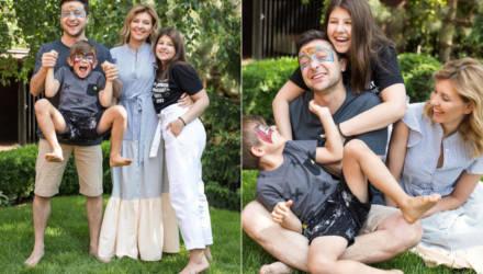 Зеленские опубликовали необычные фото с детьми