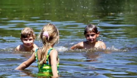 В Гомеле 8 студентов на время каникул стали спасателями. Уже достали из воды пятерых детей