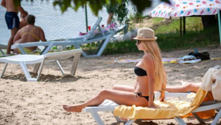 Гомель плавится от жары. На каких местных пляжах можно отдохнуть и где комфортнее всего