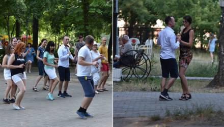 Гомельчане вышли на улицу танцевать латино (фото)