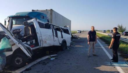 Водитель обвиняется посмертно: в Украине завершилось следствие по делу о ДТП с пятью погибшими белорусами в гомельской маршрутке