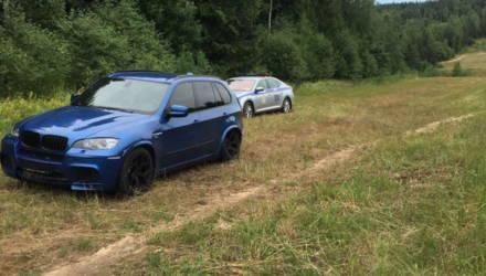 Скорость – 250 км/ч и попытка тарана служебного авто: видео погони за BMW X5 M на трассе М3