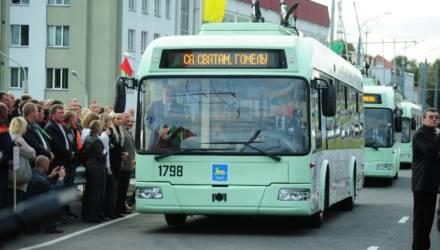 В связи с Днём Независимости (3 июля) изменяется движение транспорта в Гомеле