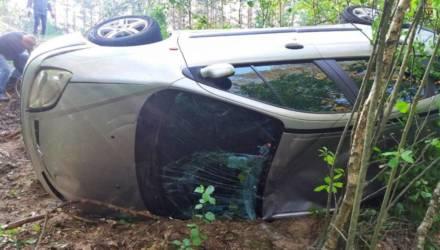 На Гомельщине женщина не справилась с управлением: авто вылетело в кювет и перевернулось – погибла 10-летняя дочка