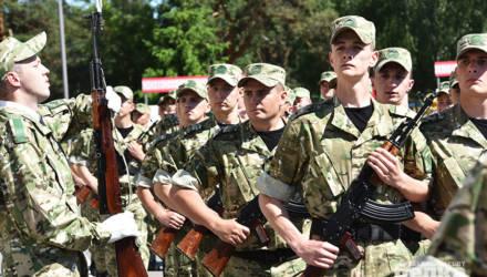 В Гомеле 70 новобранцев приняли присягу на плацу войсковой части 5525