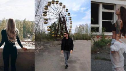 После сериала «Чернобыль» Припять наводнили Инстаграм-блогеры. По геотегу встречаются даже полуобнажённые снимки