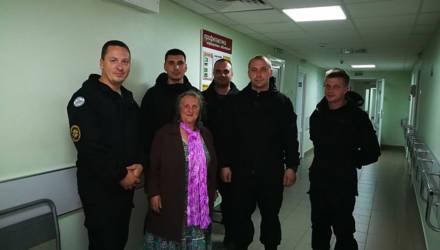 В Жлобинском районе нашли пропавшую в лесу женщину