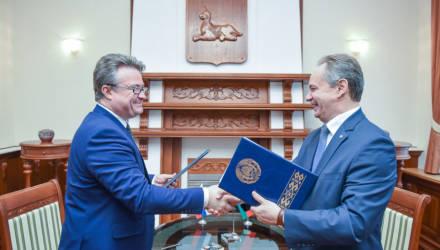 Гомель и российский Воронеж стали городами-побратимами
