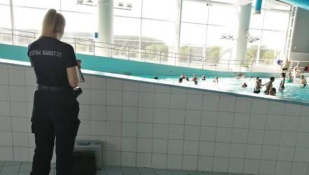 """Мальчик чуть не утонул в аквапарке """"Лебяжий"""""""