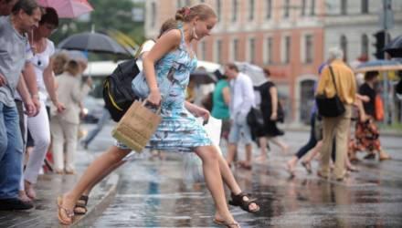 То ветер, то дождь. Погода в Гомеле на выходные