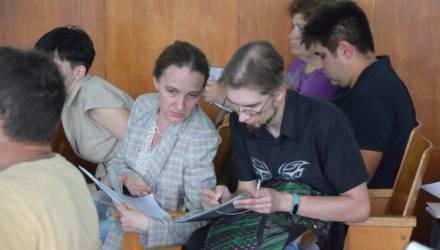 В Новобелицком районе Гомеля обсудили схему озеленённых территорий общего пользования