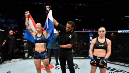 """""""Давай сделаем это по-быстрому"""": UFC порадовал зрителей яркими нокаутами"""