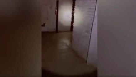 Охранник снял на видео нечто жуткое, услышав детский крик из крематория