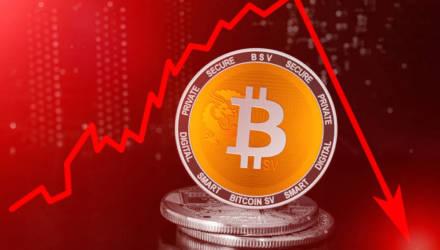Биткоин рухнул. Куда движется курс криптовалюты