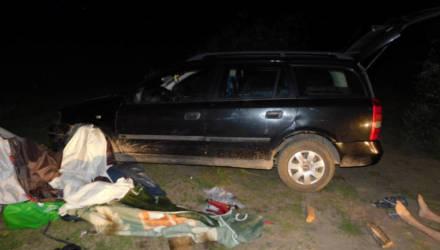 В Ганцевичском районе нетрезвая женщина за рулём наехала на палатку, где был её парень. Мужчина погиб