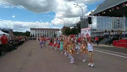 Гомель празднует День Независимости Беларуси – прямой эфир