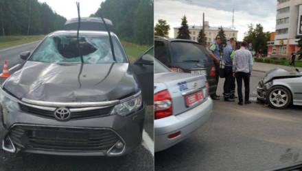 Смертельное ДТП под Светлогорском и много мелких аварий в Гомеле: врезаются в столбы, не могут уступить и поделить дорогу