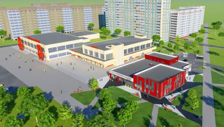 Возле ТД «Речицкий» хотят построить новый торговый объект