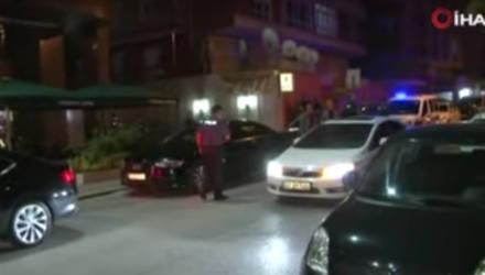 Появилось видео с места стрельбы в белорусского дипломата в Турции