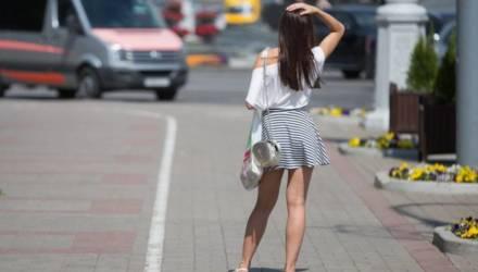 В понедельник аномальная жара, в субботу – заплыв по улицам. Погода в Гомеле на неделе