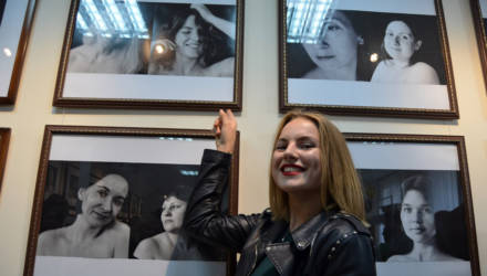 Необычную выставку женского портрета открыли в Гомеле