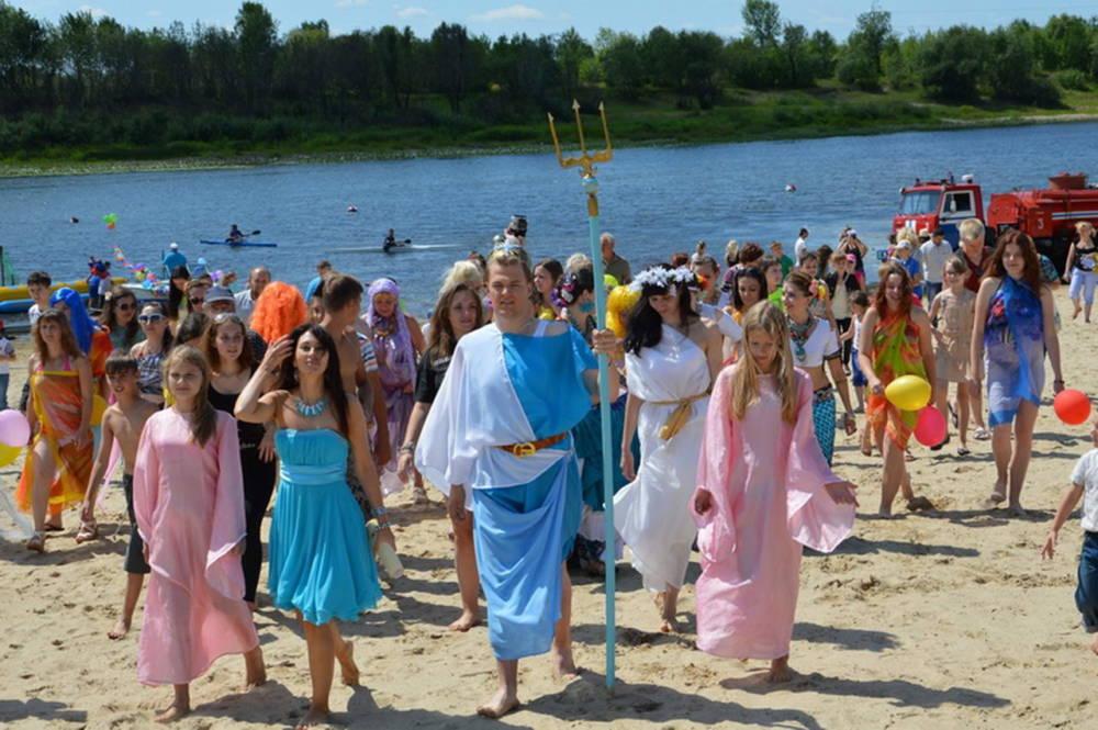 Пляжное дефиле, шуточные конкурсы и состязания на песке - в субботу в Гомеле отметят День Нептуна