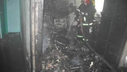 В Гомеле в колледже электротехники произошёл серьёзный пожар (фото, видео)