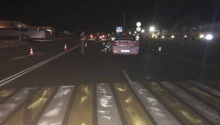 В Рогачёве таксист насмерть сбил женщину на пешеходном переходе – возбуждено уголовное дело