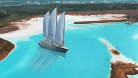 Олигарх из Гомеля, создавший Мальдивы в Сибири, не топит бурым углём яхту за 400 млн евро