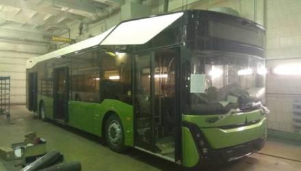 В интернете появились фотографии нового автобуса МАЗ-303