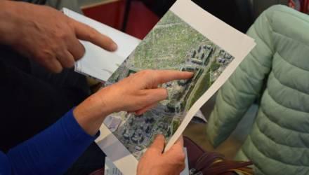 В Гомеле началось обсуждение схем озелененных территорий районов