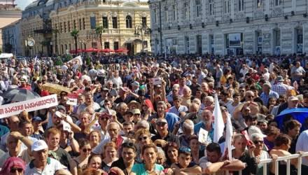 В Грузии прошёл митинг за восстановление отношений с Россией
