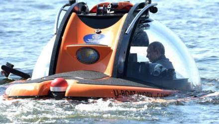 Фотофакт. Путин на батискафе опустился на дно Финского залива